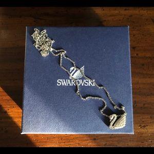 Swarovski Crystal Swan pendant